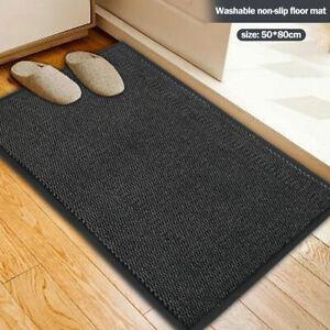 50 x 80 cm Door Mat Dirt Trapper Entrance Mat Soft Non-Slip Entrance Rug Super