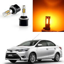 For Toyota RAV4 2001-2005 2pcs Yellow MINI LED Bulb Fog Lamp Driving Lights