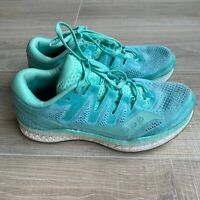 Saucony Freedom Iso 2 Everun Running Shoes Size 7 Womens Teal