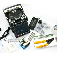 New RY-F600 Fusion Splicer With Optical Fiber Cleaver Automatic Focus