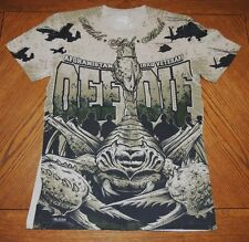 NEW 'OEF OIF' T-Shirt- 7.62 Design Military Men's Tee - SIZE XL- Closeout Price!