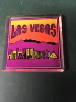 VINTAGE STATE MAGNET LAS VEGAS 2.25 INCHES