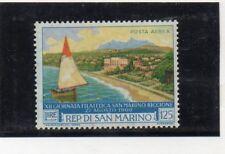 San Marino Costas Barcos Valor aéreo del año 1960 (DR-272)