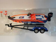 1:43 scale, Autographed, Kellogg's Fishing Team, Ranger 520 Bass Boat & Trailer