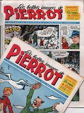 Les belles images de PIERROT. Lot des n°43 à 66. Année 1954 - 23 numéros