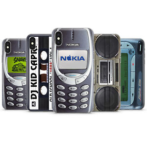 RETRO VINTAGE GADGET NOKIA 3310 CASSETTE PHONE CASES & COVERS FOR IPHONE 8 X 11