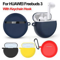 case Soft Silicone Cover Earphone Case Protective Skin For Huawei Freebuds 3