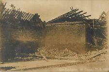 Fertilizer Plant Explosion, Oppau Germany 1921 RPPC