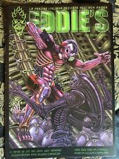IRON MAIDEN EDDIE'S original ITALIAN fan club magazine # 15 ALIEN