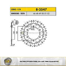 FOR HUSABERG FE 600 2000 2001 STEEL REAR SPROCKET WORKS-Z SUNSTAR 520 - 51 TEETH