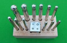 Doming set of 13 pieces for use in Antique clock/jewellery repair trade