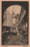Antike Ansichtskarte Alt Berlin Krögelhof Jahr 1926 verschickt nach Eisenach