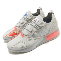 adidas Originals ZX 2K BOOST NASA Space Race Grey Silver Men Casual Shoes FX7028