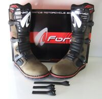 New Brown Forma Boulder Trials Boots *FREE STRAPS WITH EVERY PURCHASE 8 9 10 11