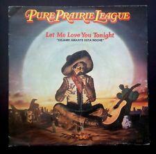 """Pure Prairie League Let Me Love You Tonight/Janny Spain Vinyl 7 """" 45 Casablanca"""