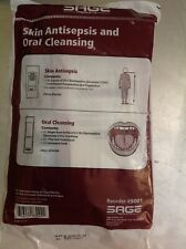 20 Pk Sage Products 9001 Skin Antisepsis And Oral Cleansing