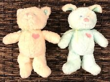Gund Heads Tales Kitty Cat Puppy Dog Chime Baby Toy Plush