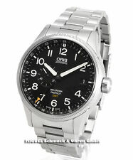 Oris Armbanduhren im Luxus-Stil aus Edelstahl