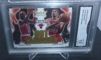 2008-09 Hot Prospects Michael Jordan Scottie Pippen Hot Tandems GMA Gem Mint 10