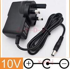 MegaDrive Power Supply 10V UK plug Adaptor Pack for SEGA CD Mega Drive 1 Console