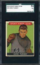 1933 Sport Kings GENE TUNNEY #18 - BOXING - SGC 84 / 7