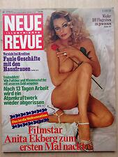 Neue Revue Nr 44/1978, Anita Ekberg, Sylvia Kristel, Polanski, Nasstassja Kinski