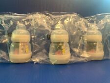 3 Mam 4.5 oz Anti Colic Bottles & Pacifier 0+ Months 9481-070-0-1 New Sealed