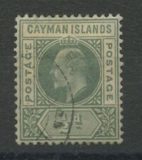 Cayman Islands SG3 Used 1902