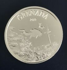 2018 Grenada 1 Oz Silver Diving Paradise Coin - Bu - With Capsule