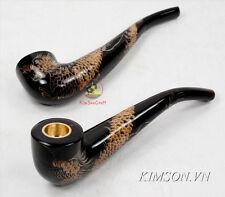 Dragon Smoking Pipes Tobacco - [Buffalo horn] - [Free shipping]