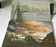 """2007 Original U.S. MINT SET. Complete with all """"P and """"D"""" Mint coins. 28 Total"""