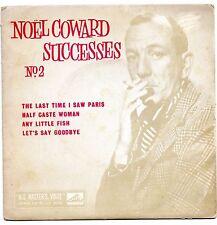 NOEL COWARD - SUCCESSES (No. 2). (SOUTH AFRICAN, EP, 7 EGJ 8346)