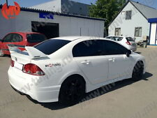 Front & Rear Lips Skirts Mugen Style for Acura CSX 2006-2012