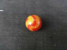 """Christensen Agate Yellow & Orange Swirl Marble 5/8"""""""