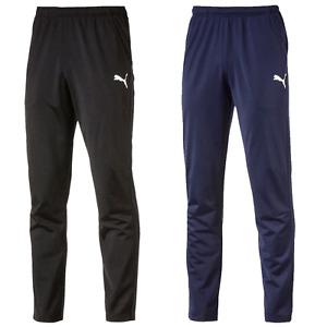 PUMA Ligue Entraînement Pantalon Core Homme de Jogging Neuf Emballage Original