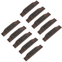 10pcs 6 String Acoustic Guitar Bridge Parts Replacement