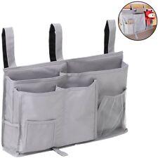 Bedside Caddy, Hanging Storage Bag Organizer Holder With 8 Pockets For Bunk Dorm