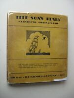 THE SUN'S DIARY Elizabeth Coatsworth HC/DJ 1929 1st Edition ILLUS Almanac - L