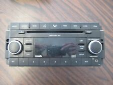 2008 DODGE/CHRYSLER/JEEP SINGLE DISC CD MP3 AUX PLAYER SIRIUS P/N P05064420AE