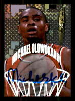 Michael Olowokandi Card 1998 Collector's Edge Impulse Pro Signatures #10