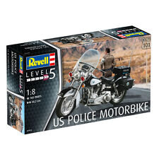 Revell US Police Motorbike (Level 5) (Scale 1:8) NEW