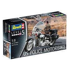 Revell nos policía Moto (nivel 5) (Escala 1:8) NUEVO