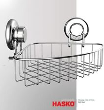 New Corner Shower Caddy Shelf With Suction Cup Bathroom Triangle Stainless Steel