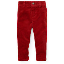 Ralph Lauren Slim Fit Corduroy Pants (Big Boys)
