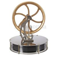 Low Temperature Stirling Engine Motor Model Cool No Steam Heat Education Toy Kit