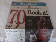 Chicago Daily Tribune Commemorative Section of 20 Front Pages