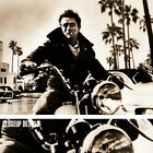 """40W""""x30H"""" LETTING GO by JEFF WHITE - JAMES DEAN MOTORCYCLE - CHOICES of CANVAS"""