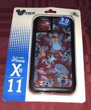 DISNEY PARKS D-TECH STITCH 3-D EFFECT APPLE iPHONE XR & 11 CASE COVER