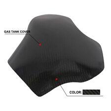 Black Fuel Gas Tank Cover Protector For KAWASAKI ZX-14R Carbon Fiber Motorcycle