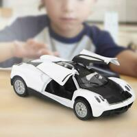 1:36 Model Cars Toy Car Kids Pull Back White Color Gift Alloy Diecast